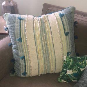 large boho throw pillow